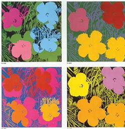Flowers di Andy Warhol