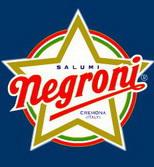 Logo Salumi Negroni - Stella a cinque punte con scritta obliqua
