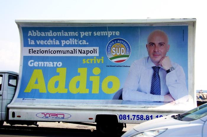 Addio (manifesto elettorale del candidato Gennaro Addio)