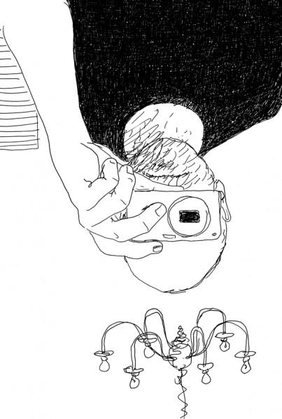 Ferrania Pancro - illustrazione di Guido Scarabottolo